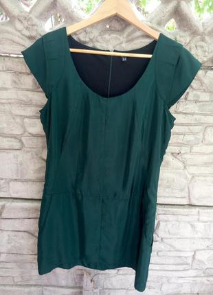 Продам зеленое мини платье asos