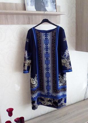 Тотальная распродажа элитных платьев.шикарное платья в модный принт xl,xxl