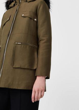 Зимняя (демисезонная, осенняя) куртка парка