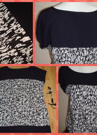 Стильное платье прямого покроя f&f, вискоза