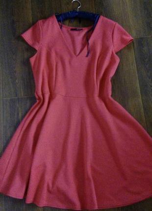 Платье фактурный плотный трикотаж