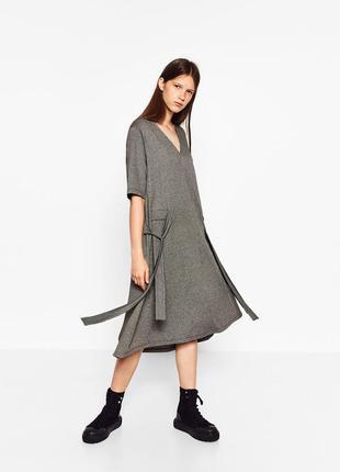 Zara платье мили, s-m