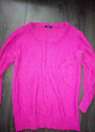 Красивейший малиновый свитер inscity