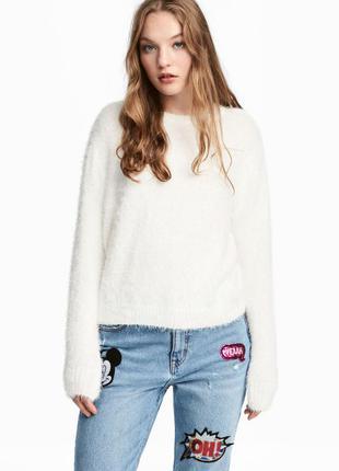 Пушистый свитер, 36р (s), полиэстер 100%
