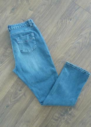 Простенькі сині прямі джинси ( papaya denim)