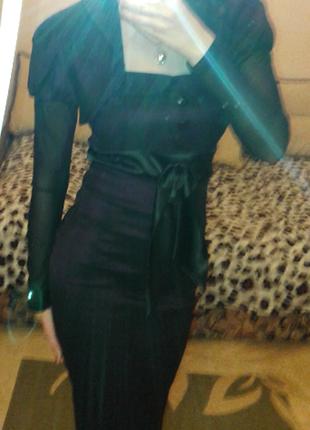 Костюм ( платье и болеро)
