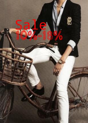 Sale 10%-18% джинси білі ralph lauren polo jeans