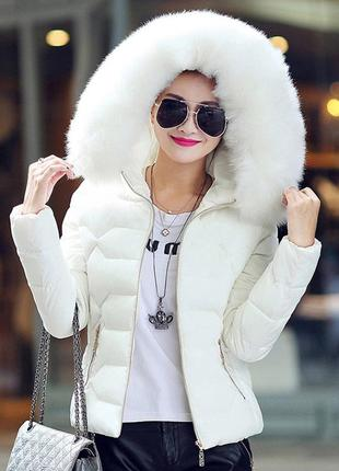 Очень крутая куртка с мехом