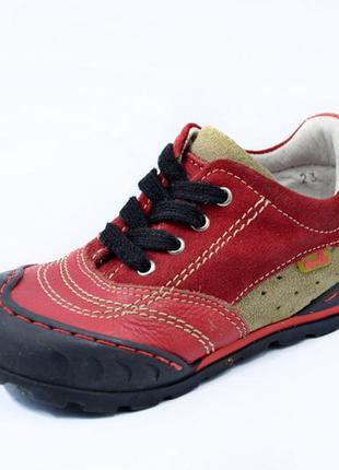 Кожаные ботинки brakkies. стелька 14, 5 см