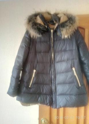 Куртка пуховая philipp  plein s-m
