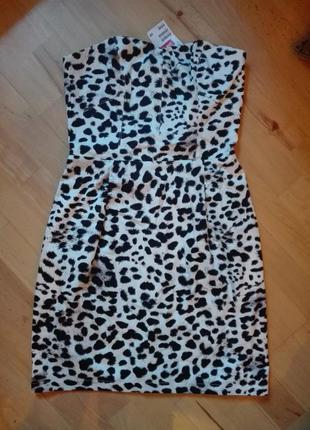 Новое леопардовое платье от h&m
