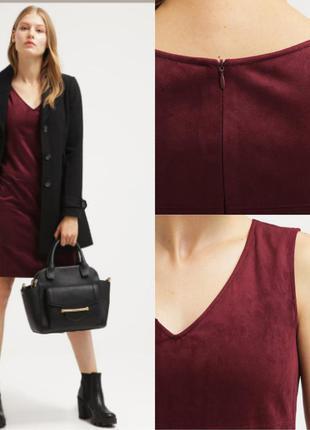 Симпатичное велюровое платье от  tom tailor