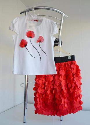 """Костюм футболка+юбка """"timole"""""""