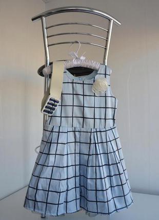Коттоновое платье для девочки