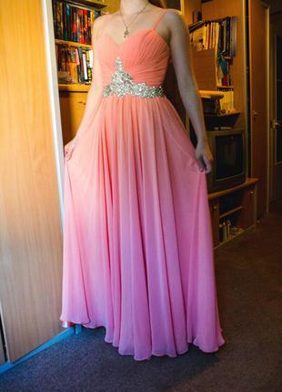 Нарядное вечернее (выпускное) платье
