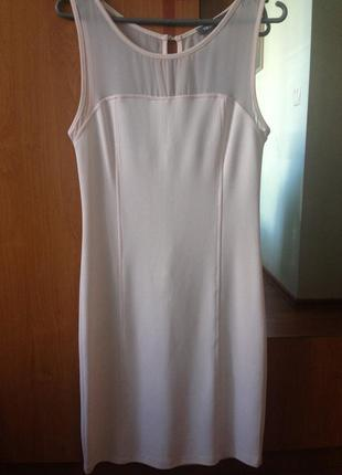 Шикарное платье футляр миди1