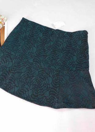 Легкая юбка на подкладке yessica размер 44 евро, новая