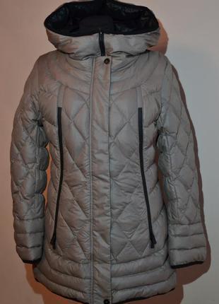 Зимняя куртка пуховик mishele 48, 50 размер xl, xxl