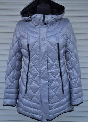 Зимняя куртка пуховик mishele 48, 50 размер