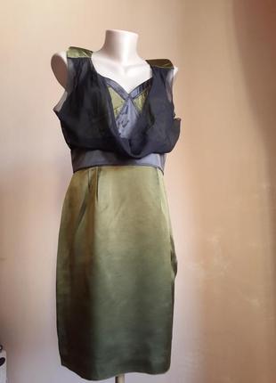 Шикарное платье шелк kookai франция