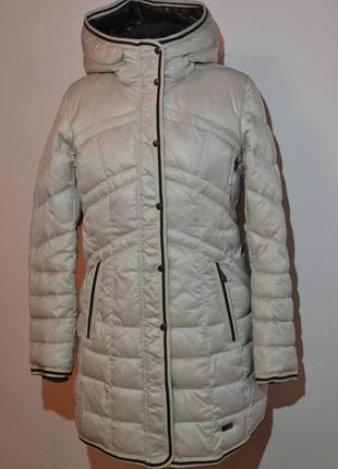 Длинная зимняя куртка mishele на тинсулейте 8821 50 размер