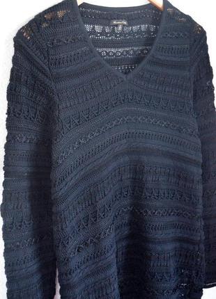 Вязаный кофта свитер  massimo dutti