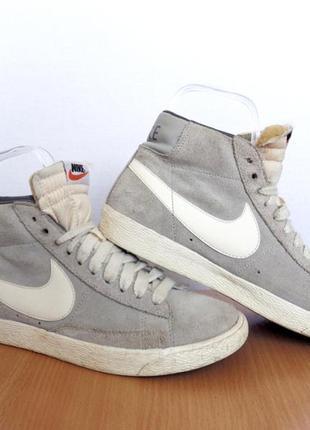 Кроссовки nike blazer оригинал высокие замшевые Nike, цена - 400 грн ... b339439eef7