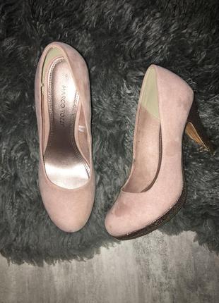 Новые туфли marco tozzi 39р 25,5см германия