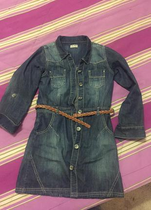 c09df3113bc Джинсовые платья для девочек 12 лет 2019 - купить недорого вещи в ...