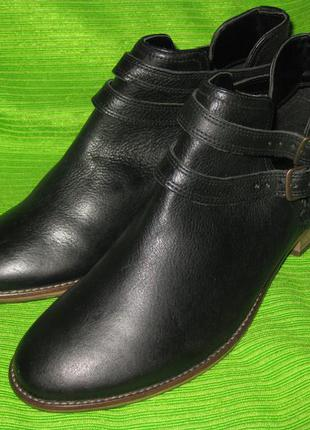 Ботинки next,р.39 стелька 26см кожа