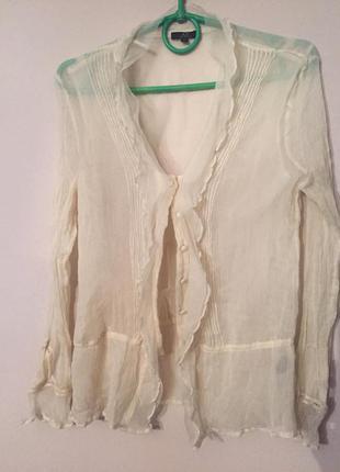 Шелковая блузочка ap , avant premiere