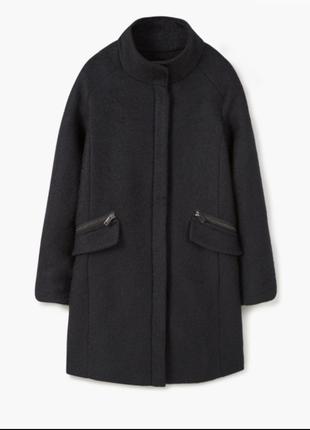 Шерстяное пальто mango suit p.s