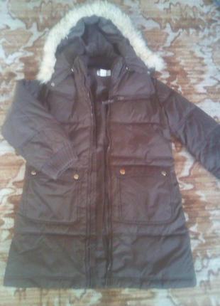 Куртка-парка на девочку-7-8 лет