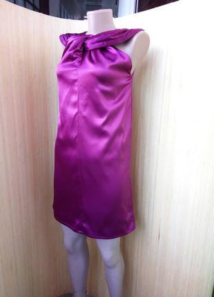 Коктейльное нарядное платье цвета марсала nelly trend