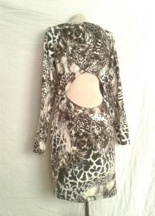 Трикотажное катоновое платье,2