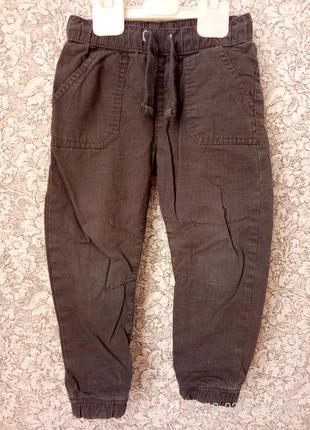 Штаны брюки джинсы скинни на подкладке