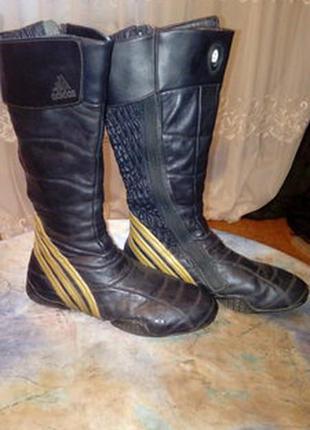Зимние кожаные сапоги adidas оригинал каждодневное обновление ... c8cb5ea2b18