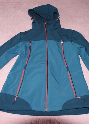 Куртка-термо  женская crane techtex softshell. германия. р. евро 40, l