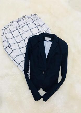 Пиджак на одну пуговицу от h&m
