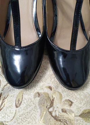 Лаковые туфли (натуральные)