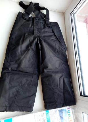 Лыжные штаны, полукомбинезон на мальчика 86-92 см lupilu германия