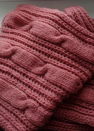 Дуже теплий шарф хомут