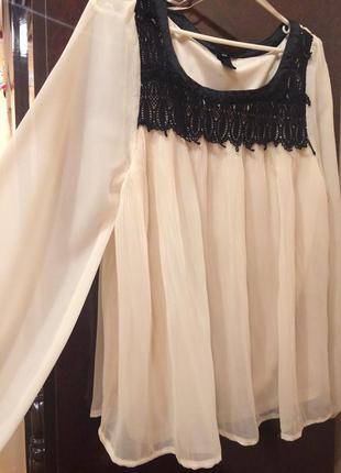 H&m блуза,нежно розовая