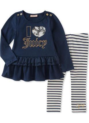 Костюм, комплект juicy couture размер 6 оригинал!