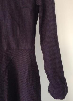 Теплое платье cos 50% wool