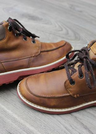 Ботинки clarks натур. кожа индия 33 размер