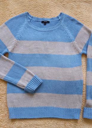 Базовый свитер свободного кроя