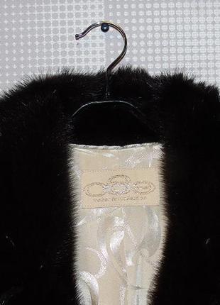 Шуба ego греция брендовая натуральная  мех оцелот (липпи)  норковая5