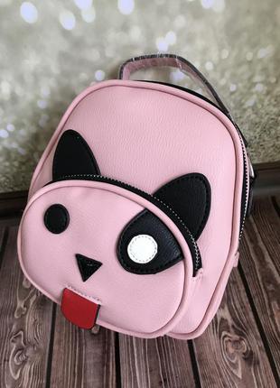 Рюкзак-сумка «котик»