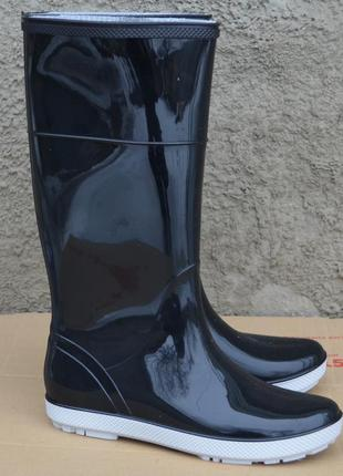 Резиновые сапоги hawai lady czarne/grey, размеры 36-41